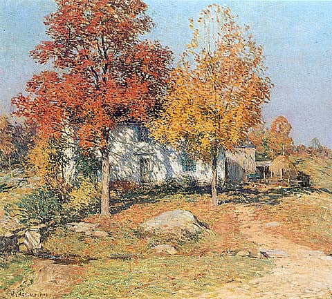 Willard Metcalf-October