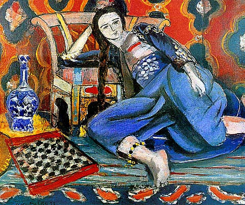 Henri Matisse-Odalisque With A Moorish Chair