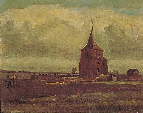 Vincent Van Gogh-Old Tower 1884
