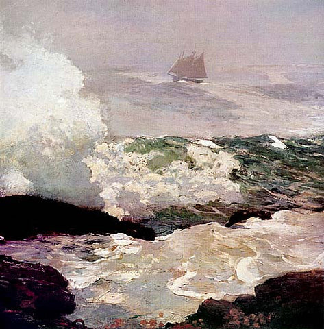 Winslow Homer-On A Lee Shore
