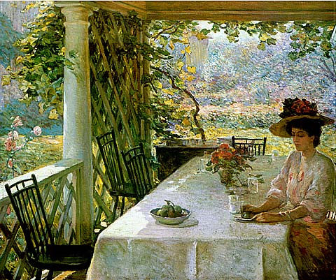 William Chadwick-On The Porch