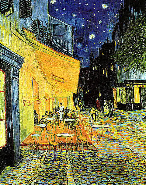 Vincent Van Gogh-Pavement Cafe