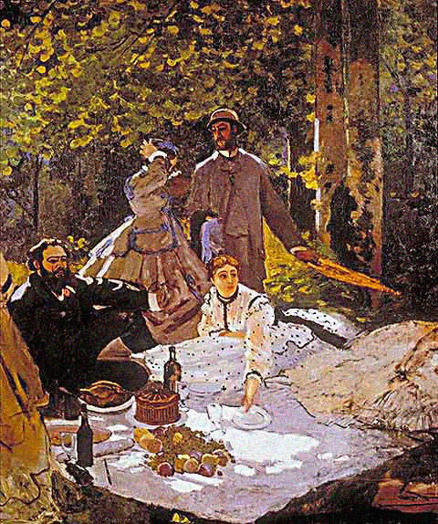 Claude Monet-Picnic 1865