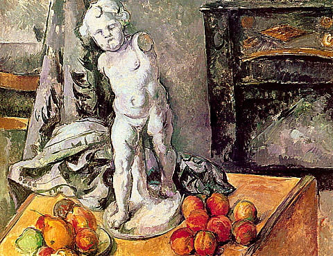 Paul Cezanne-Plaster Cupid