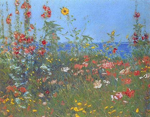 Childe Hassam-Poppies Isles Of Shoals