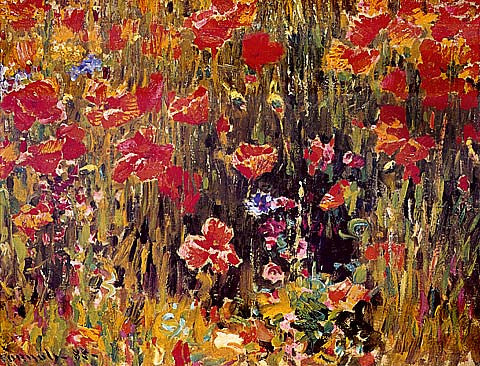 Robert Vonnoh-Poppies