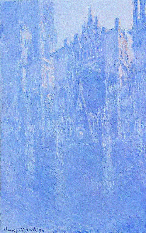 Claude Monet-Cathedral Portal In The Mist 1894