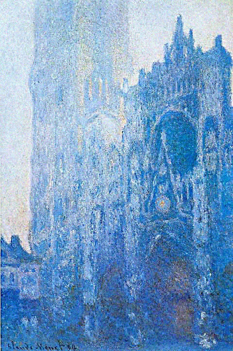 Claude Monet-Portal and the Tour D Albane at Dawn