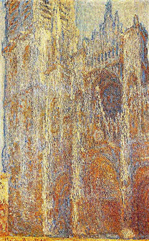 Claude Monet-Portal And Tower In Brown