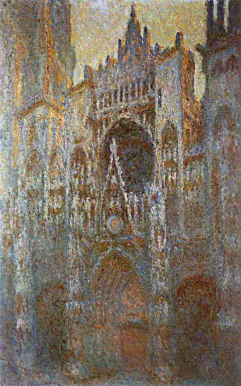 Claude Monet-Portal In The Afternoon
