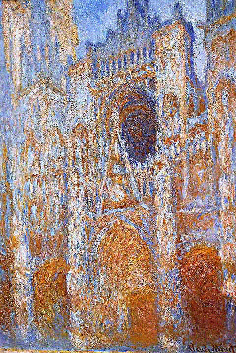 Claude Monet-Portal of Rouen Cathedral at Midday