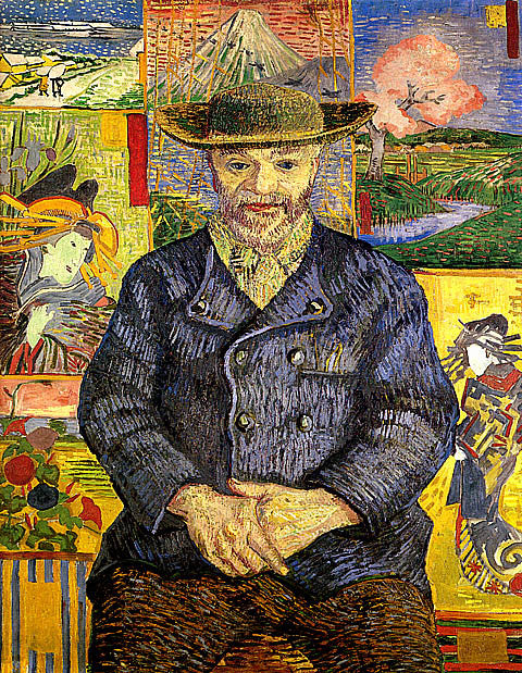 Vincent Van Gogh-Portrait Of Pere Tanguy
