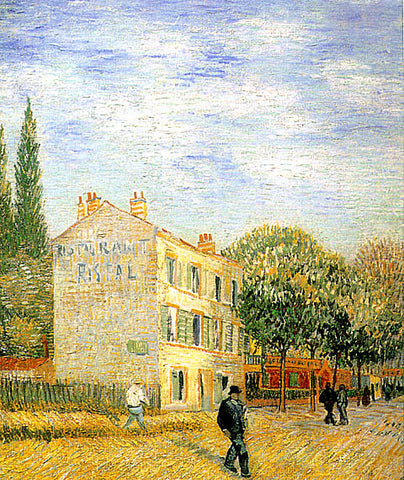 Vincent Van Gogh-Restaurant Rispal At Asnieres