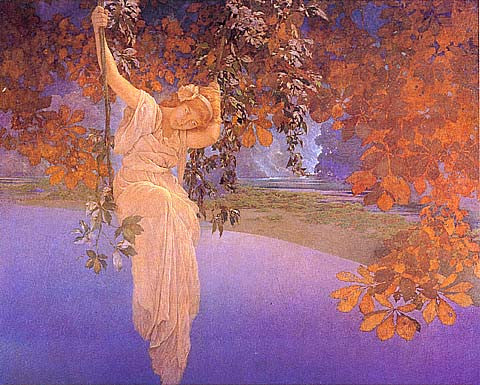 Maxfield Parrish-Reveries