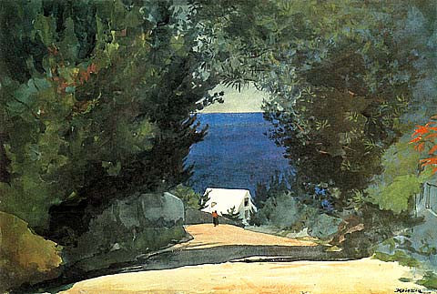Winslow Homer-A Road In Bermuda