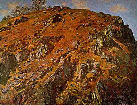 Claude Monet-Rock 1889