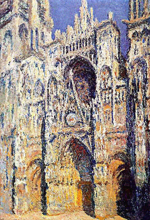 Claude Monet-Rouen Cathedral the West Portal