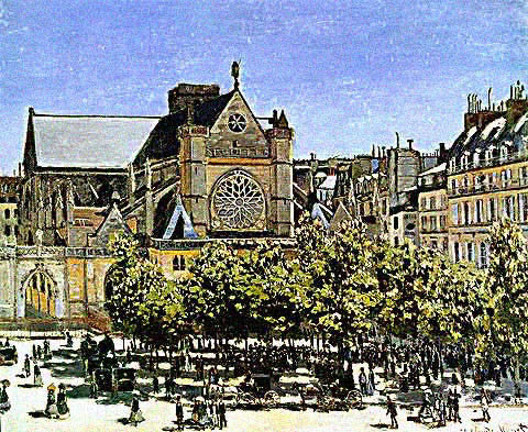 Claude Monet-Saint Germain L Auxerrois