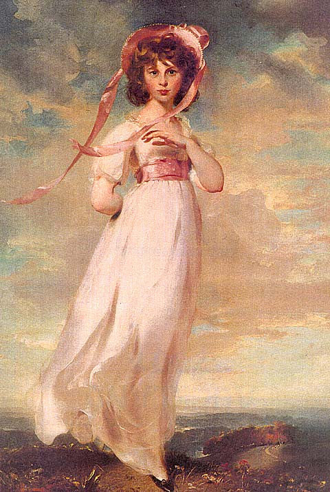 Thomas Lawrence-Sara Barrett Moulton (Pinky)