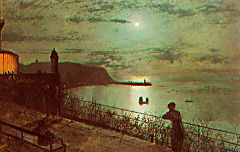 John Atkinson Grimshaw-Scarborough 1878