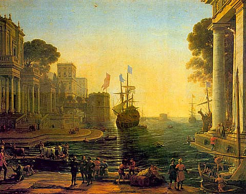 Claude Lorrain-Ulysses Returning Chryseis To Her Father