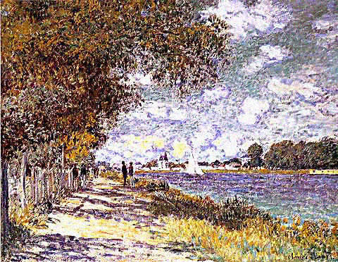 Claude Monet-Seine at Argenteuil