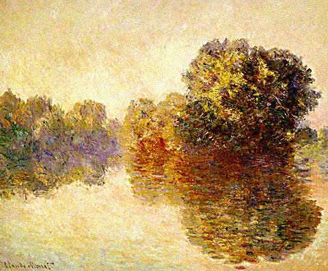 Claude Monet-Seine at Giverny