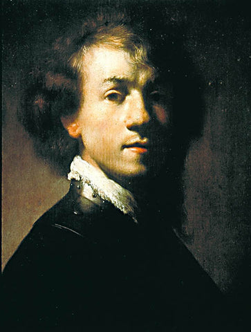 Rembrandt-Self Portrait 1629