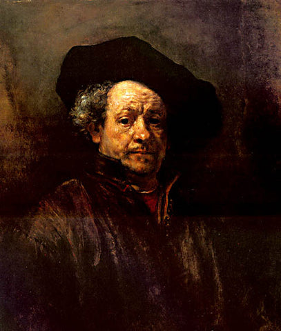 Rembrandt-Self Portrait 1657