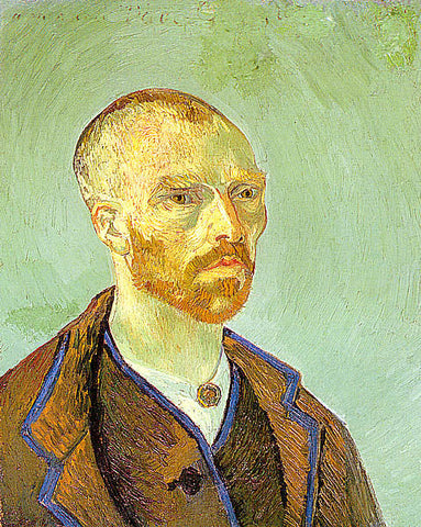 Vincent Van Gogh-Self Portrait 1888
