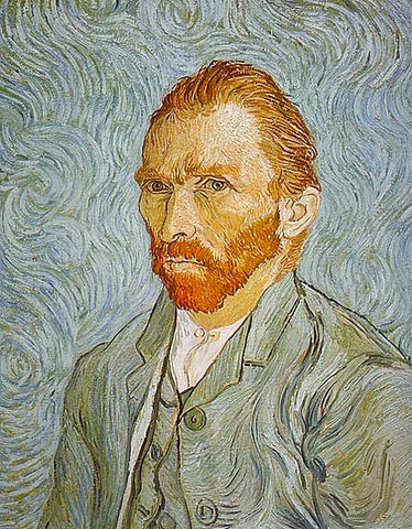 Vincent Van Gogh-Self Portrait 1889