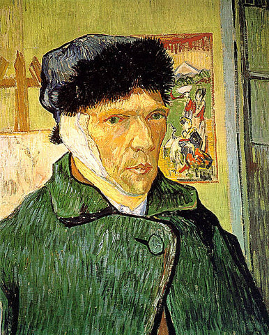 Vincent Van Gogh-Self Portrait With Bandaged Ear