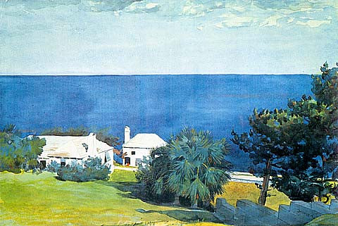 Winslow Homer-Shore At Bermuda