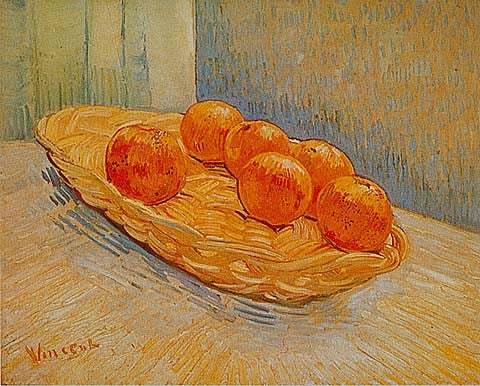 Vincent Van Gogh-Six Oranges 1888