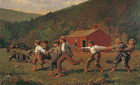 Winslow Homer-Snap The Whip