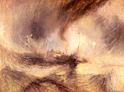 Joseph Mallord William Turner-Snow Storm 1842