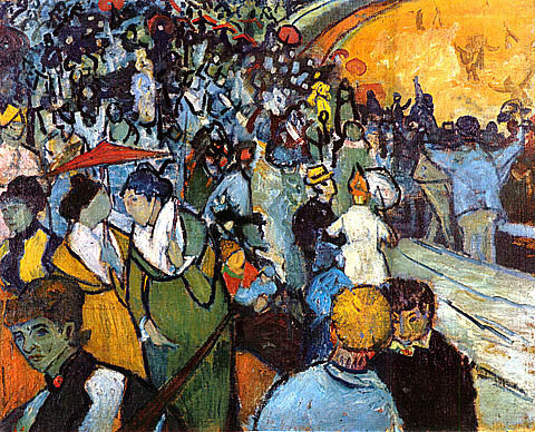 Vincent Van Gogh-Spectators In The Arena