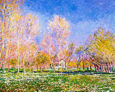 Claude Monet-Spring in Giverny