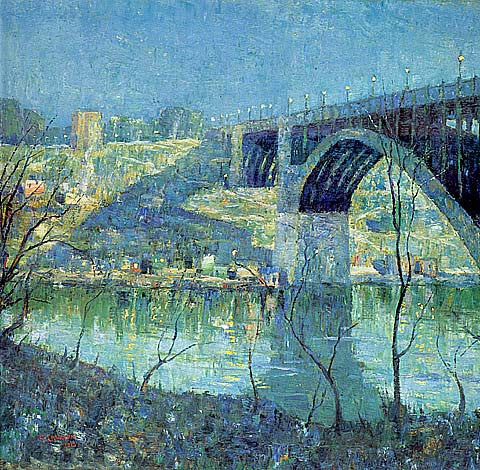 Ernest Lawson-Spring Night