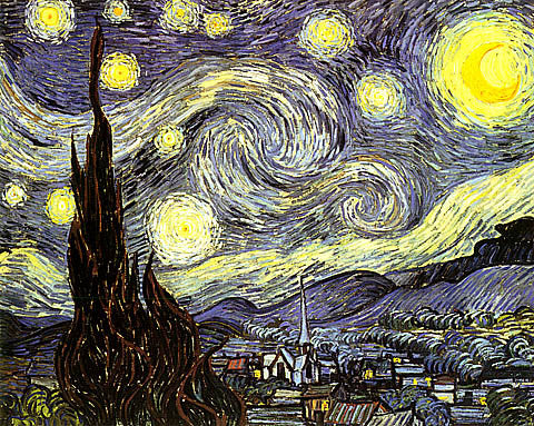Vincent Van Gogh-Starry Night
