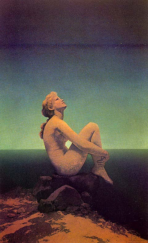 Maxfield Parrish-Stars