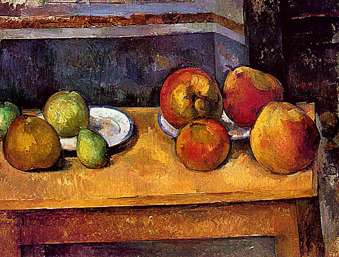 Paul Cezanne-Still Life Apples And Pears