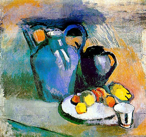 Henri Matisse-Still Life With Blue Jug