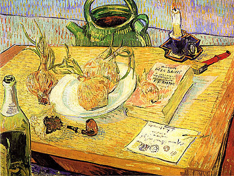 Vincent Van Gogh-Still Life With Onions