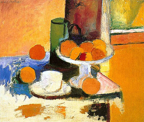 Henri Matisse-Still Life With Oranges