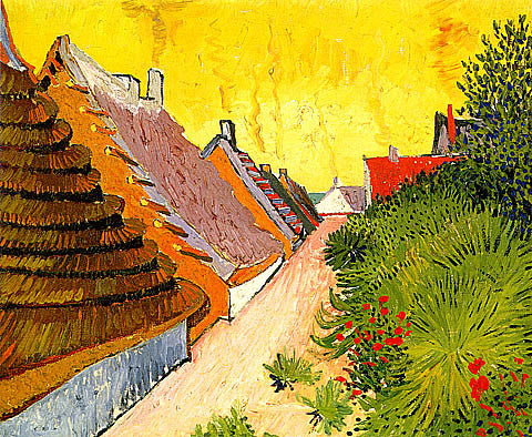 Vincent Van Gogh-Street In Saintes Maries
