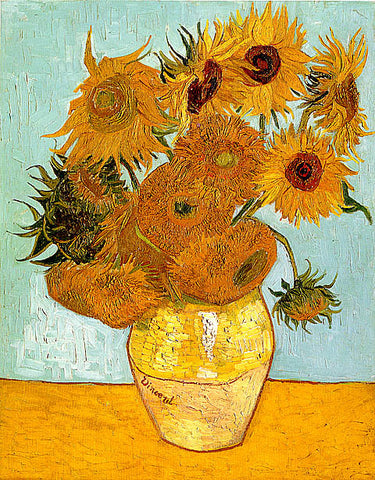 Vincent Van Gogh-Sunflowers 1888