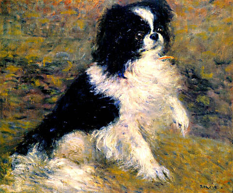 Pierre Auguste Renoir-The Japanese Dog