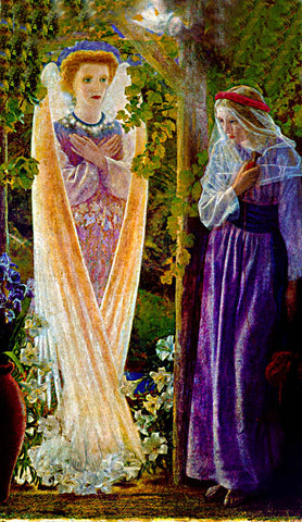 Edward Robert Hughes-The Annunciation