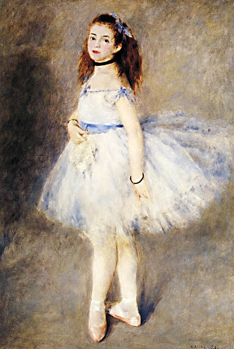 Pierre Auguste Renoir-The Dancer 1874